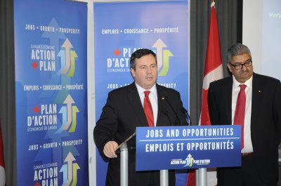 Appointed by Federal Government to Chair Panel on Immigrant Employment Challenges