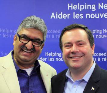 With Minister Jason Kenney