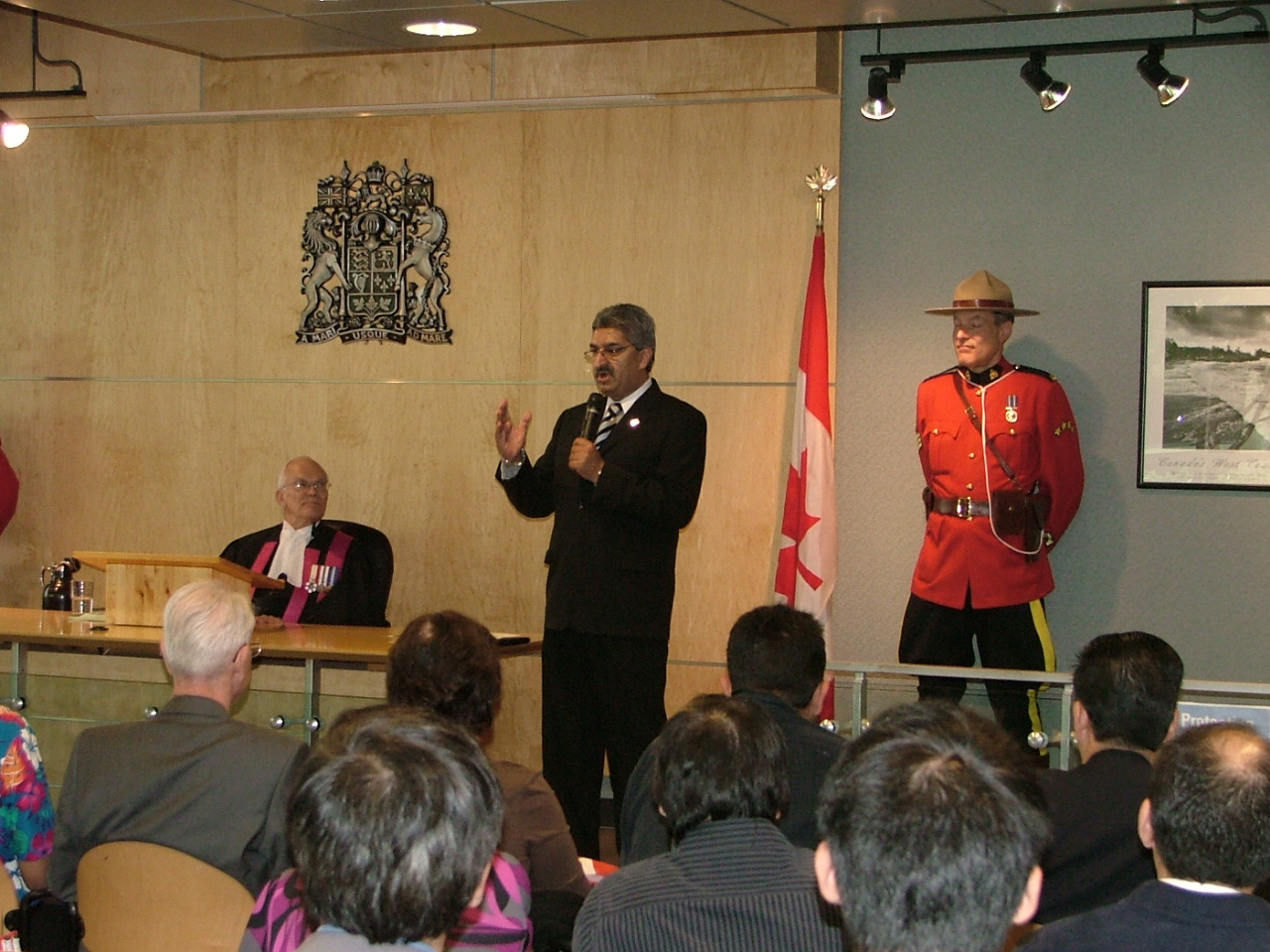 World Refugee Day speaking to new citizens 2007